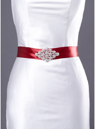 Beautiful Satin Sash With Beading