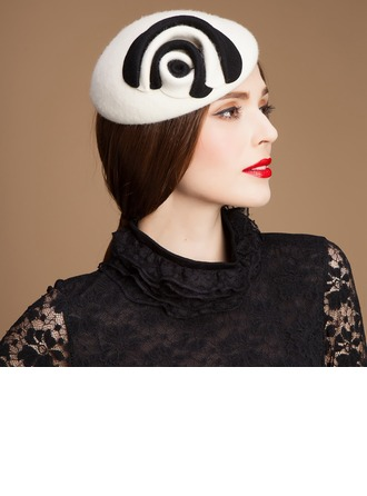Ladies' Beautiful Autumn/Winter Wool With Beret Hat