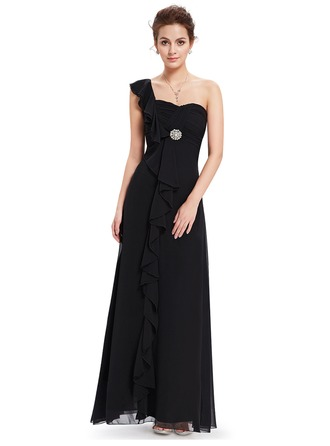 Polyester/Chiffon With Maxi Dress