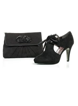 Special Velvet Shoes & Matching Bags