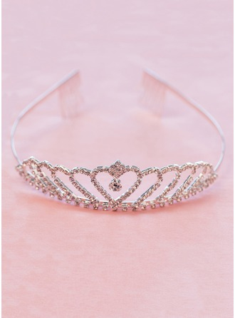 Alloy/Rhinestones With Tiaras/Combs & Barrettes Dress