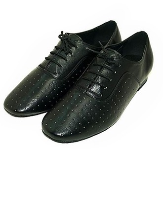 Men's Real Leather Modern Ballroom Dance Shoes