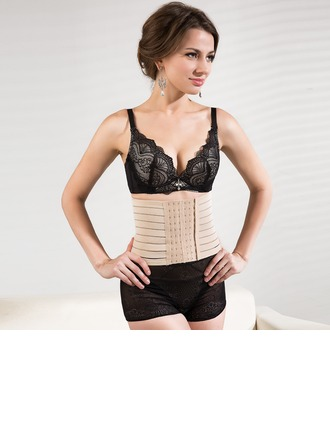 Cotton Chinlon Front Busk Waist Cincher (M-2XL)