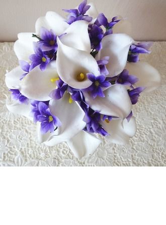 Romantic Hand-tied Cloth Bridal Bouquets
