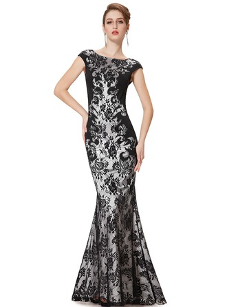 Lace/Satin/Healthy Fabric With Lace Maxi Dress