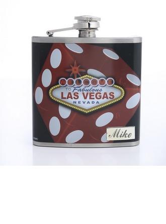 Personalized Las-Vegas Stainless Steel Flask
