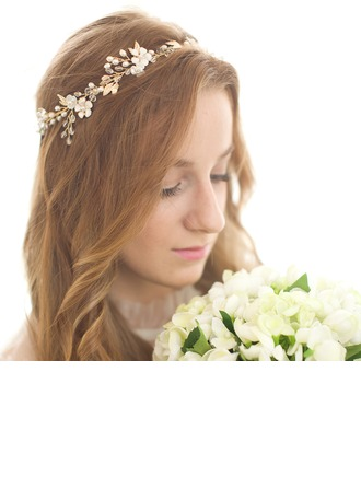 Eye-catching Rhinestone/Alloy/Freshwater Pearl Headbands