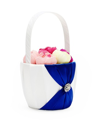 Satiini Flower Basket