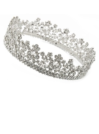 High Quality Rhinestone/Alloy Tiaras
