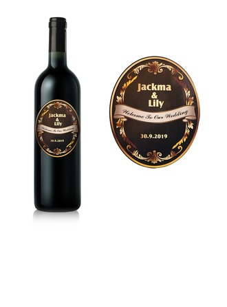 Personalized Classic Bottle Stickers/Bottle Labels