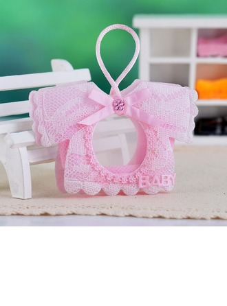 Baby Dress Design Favor Bags With Rhinestone