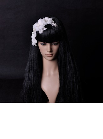 Beautiful Imitation Pearls/Lace/Silk Flower Flowers & Feathers