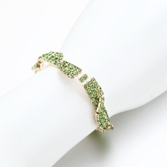 Attractive Alloy/Rhinestones Ladies' Bracelets