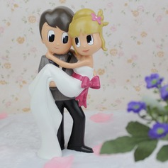 "Figurine ""Sweet Moment"" Resin Wedding Cake Topper"