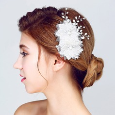Special Alloy/Imitation Pearls/Lace Flowers & Feathers