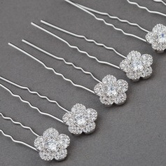 Unique Zircon Hairpins (Set of 6)