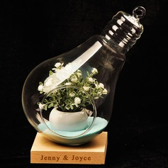 Personalized Attractive Ornament Glass Table Centerpieces