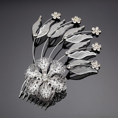 Charming Crystal/Alloy Combs & Barrettes