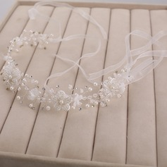 Special Rhinestone/Imitation Pearls Headbands
