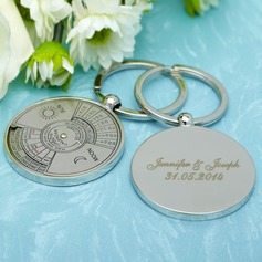 Personalized Perpetual Calendar Stainless Steel Keychains  (118030189)