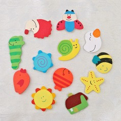 Cute Animal Wooden Stickers
