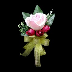 Cute Free-Form Satin Boutonniere