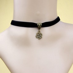 Chic Alloy With Ribbon Ladies' Fashion Necklace