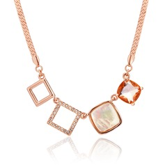Beautiful Alloy With Crystal Women's/Ladies' Necklaces