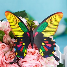 Multi-color Plastic Butterfly