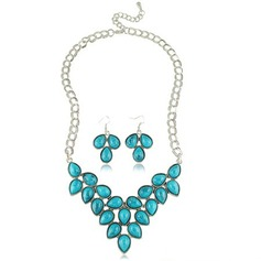 Beautiful Alloy With Imitation Stones Women's Jewelry Sets