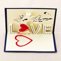 Three-dimensional Tree of Love Greeting Cards