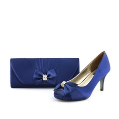Attractive Satin Shoes & Matching Bags