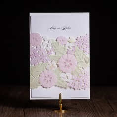 Personalized Classic Style Wrap & Pocket Invitation Cards