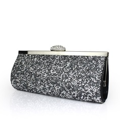 Shining Satin/Sequin Clutches