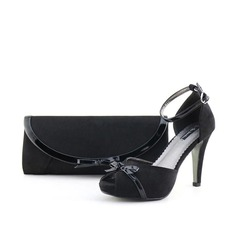Fashional Velvet Shoes & Matching Bags