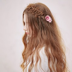 Beautiful Silk Flower Combs & Barrettes (Sold in single piece)