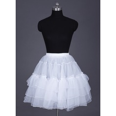 Women Organza Short-length 2 Tiers