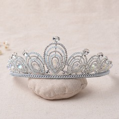 Ladies Elegant Alloy/Platinum Plated Tiaras