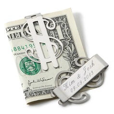 Personalized Classic Stainless Steel Money Clips