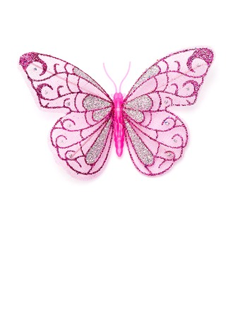 Colorful Organza Butterfly Decorative Accessories