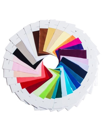 [Free Shipping] Fabric Swatch — Single Color in 4 materials