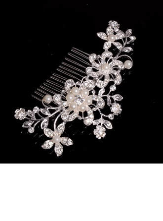 Beautiful Alloy/Imitation Pearls Combs & Barrettes