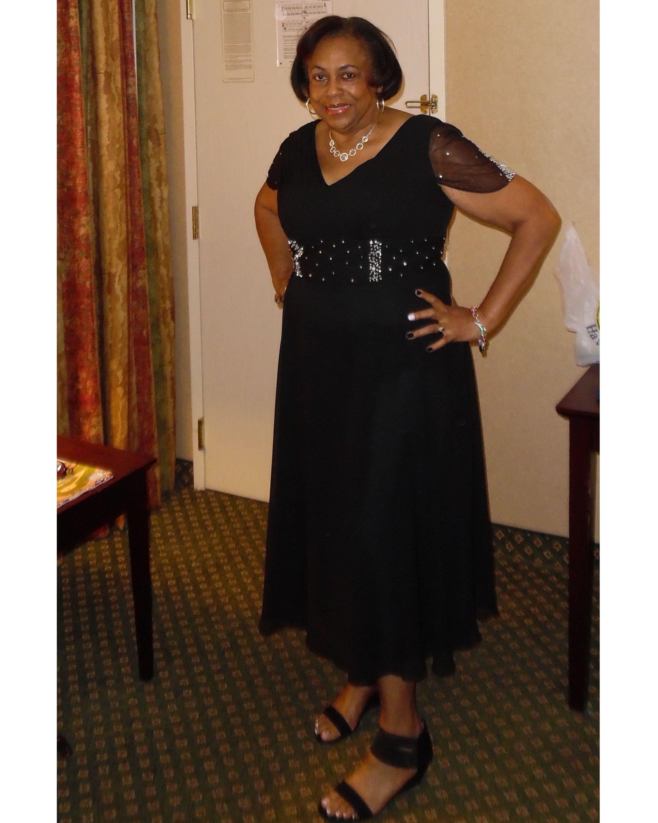 A-Line/Princess V-neck Tea-Length Chiffon Mother of the Bride Dress ...