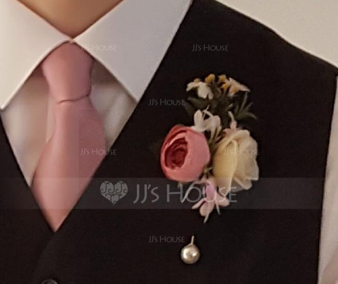 Mädchenhaft Seidentücher Armbandblume/Knopflochblume - Armbandblume/Knopflochblume (123123065)